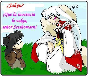 Rin y Sesshomaru